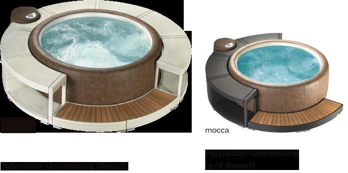 poly rattan umrandung f r softube legend 220 polyrattan. Black Bedroom Furniture Sets. Home Design Ideas