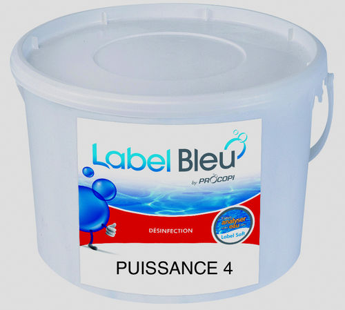 Multichlor Tabletten Puissance 4 Label Bleu 5 Kg