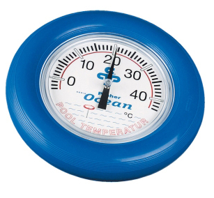 Poolthermometer Ocean® blau - Rundthermometer Deluxe
