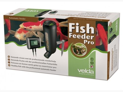 Fish Feeder Pro 3000ml Teich Futterautomat