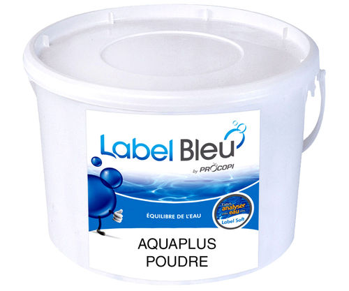 Aquaplus Pulver 2 Kg pH Anhebung im Pool Label Bleu