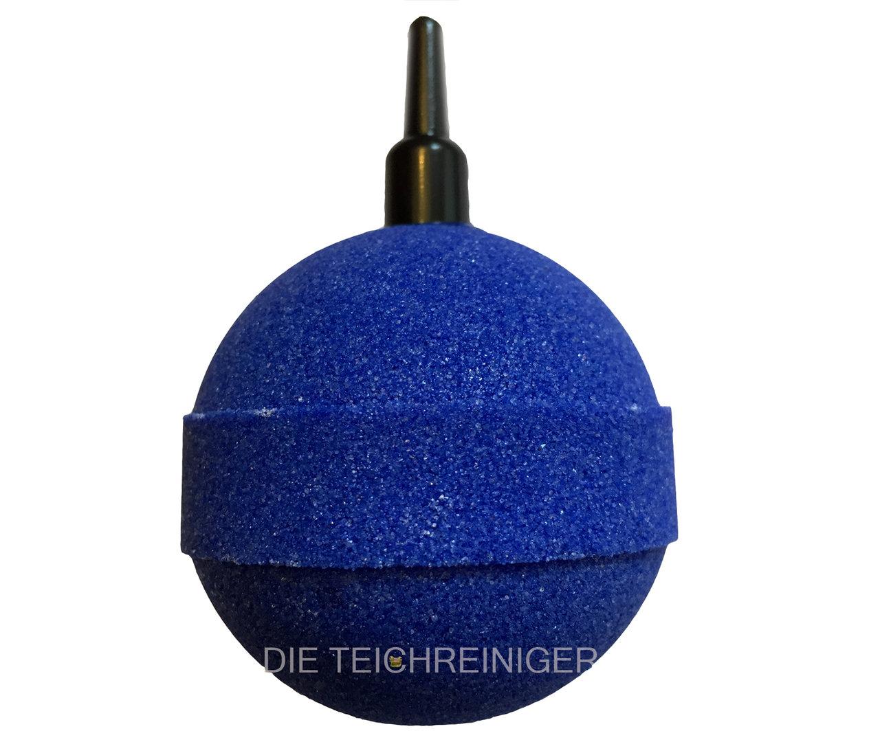ausstr mer bel fterstein kugel blau 50mm 5 stck f r gartenteiche. Black Bedroom Furniture Sets. Home Design Ideas